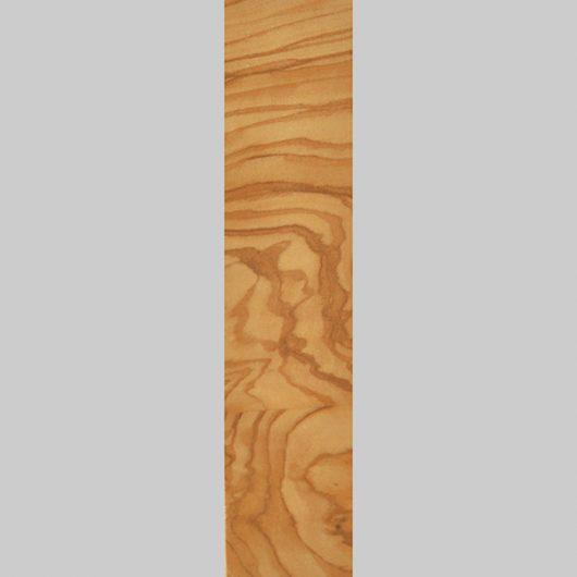 ročno izdelana lesena knjižna kazalka v barvi oljke